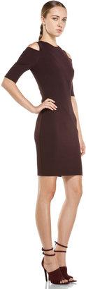Kimberly Ovitz Sakon Shoulder Cut Dress in Sangre