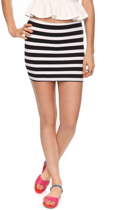 Forever 21 Essential Striped Bodycon Skirt