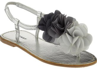 Old Navy Girls Chiffon-Rosette Sandals
