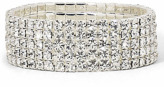 VIESTE ROSA Vieste Crystal 5-Row Stretch Bracelet