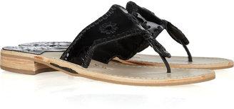 Jack Rogers Key West patent-leather sandals
