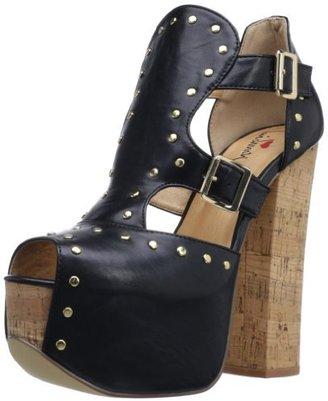 Luichiny Women's One Minute Platform Sandal