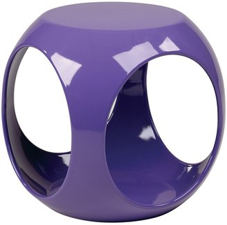 OSP Home Furnishings Avenue Six Slick Cube End Table