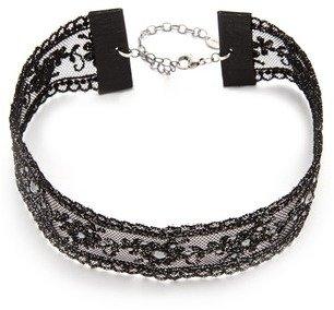 Chan Luu Chanluu Embellished Choker Necklace In Black