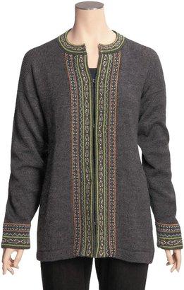 Kessler ML Alpaca Cardigan Sweater - Long Sleeve (For Women)