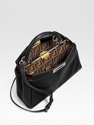 Fendi Regular Peekaboo Top Handle Bag