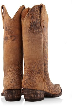 Old Gringo Leopardito 10 inch Cowboy Boots