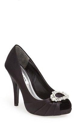 Nina 'Elvira' Peep Toe Pump (Women) $98.95 thestylecure.com