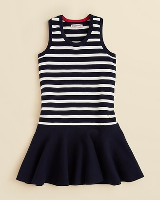 Juicy Couture Girls' Sleeveless Striped Dress - Sizes 6-14