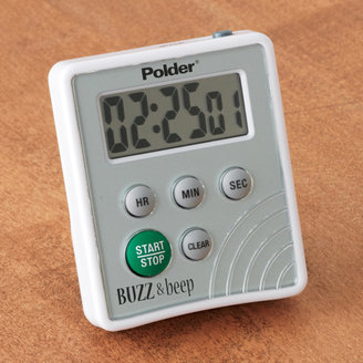 Polder Digital Buzz and Beep Timer