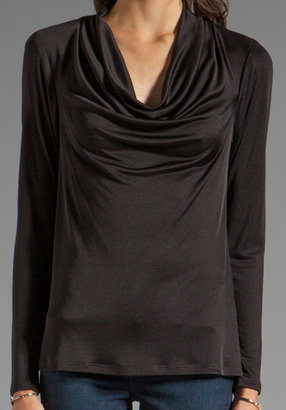 Trina Turk Shaken Not Stirred Long Sleeve Prince Top