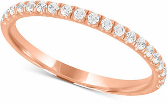 X3 Certified Diamond Wedding Band in 18k Gold, White Gold or Rose Gold (1/4 ct. t.w.)