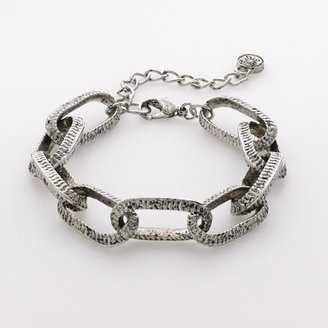 Vera Wang Simply vera tone chain-link bracelet