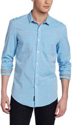 Calvin Klein Jeans Men's Chambray Lon...