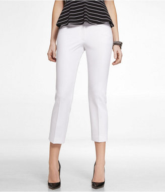 Express Studio Stretch Cropped Editor Pant