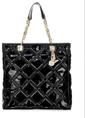 Versace Embossed Patent Tote