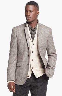 HUGO BOSS 'Ridges' Trim Fit Stripe Sportcoat