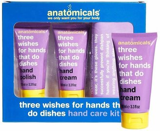 Anatomicals Three Wishes For Hands That Do Dishes Hand Care Kit