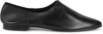 ST. AGNI Julien Black Leather Flats
