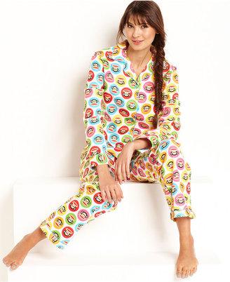 Paul Frank Age Group Circle Print Top and Pajama Pants