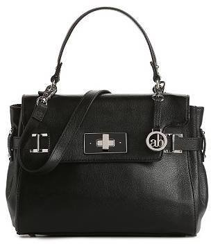 Audrey Brooke Madelyn Leather Top Handle Satchel