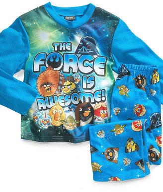 Star Wars AME Kids Pajamas, Boys or Little Boys 2-Piece Angry Birds PJs