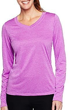 JCPenney XersionTM Long-Sleeve Melange Tee