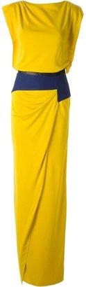 Vionnet draped dress