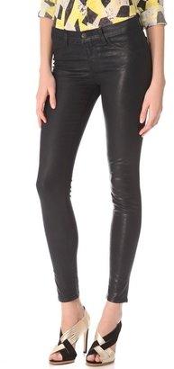 J Brand 915 Coated Textured Legging Jeans