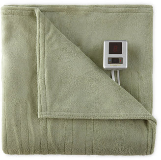 JCPenney BiddefordTM Plush Heated Blanket