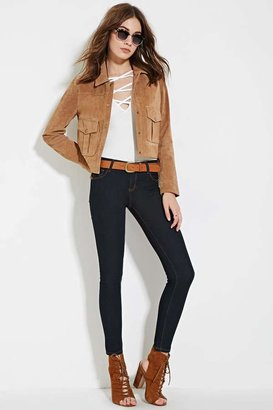 FOREVER 21+ Low Rise- Ankle Skinny Jeans $7.90 thestylecure.com