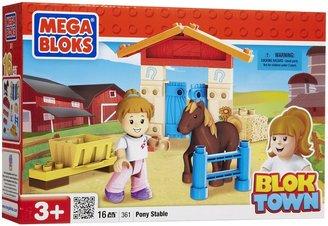 Mega Bloks Bloktown Pony Stable (16 pcs)