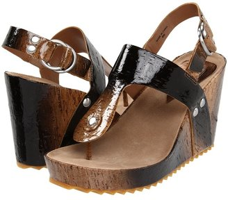 Daniblack Cruise (Natural/Black Degrede Cork) - Footwear