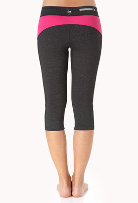 Forever 21 Heathered Skinny Performance Capris