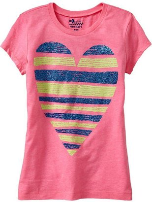 Old Navy Girls Peace & Love Tees