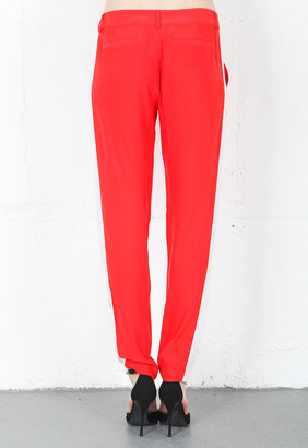 Parker Talon Colorblock Pant in Cherry Combo