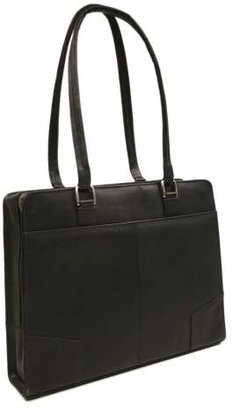 Piel Leather Hardside Shoulder Tote