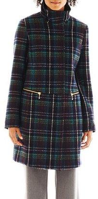 JCPenney Worthington Zip Wool Coat