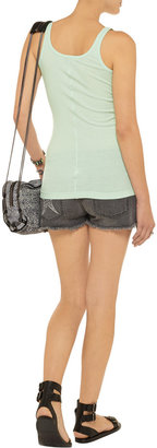 Vince Favorite Rib cotton and modal-blend tank