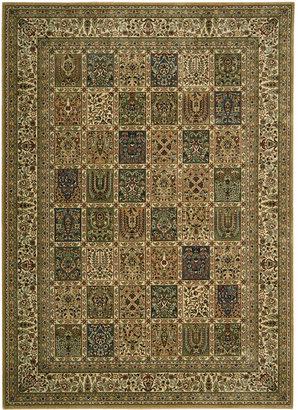 """Nourison Area Rug, Persian Arts BD01 Beige 2'3"""" x 8' Runner Rug"""