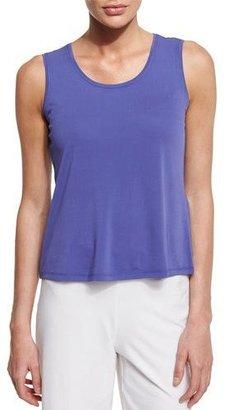 Eileen Fisher Stretch Silk Jersey Tank, Petite $98 thestylecure.com
