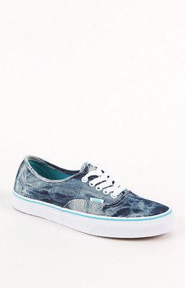 Vans Authentic Acid Denim Sneakers