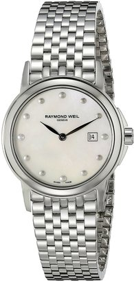 Raymond Weil Women's 5966-ST-97001 Stainless Steel Mother-Of-Pearl Dial Watch