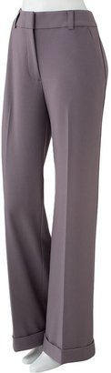 JLO by Jennifer Lopez wide-leg trouser pants