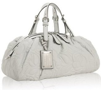 Dolce & Gabbana white quilted leather 'Miss Glamorous' bag