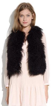 Madewell Shaggy vest