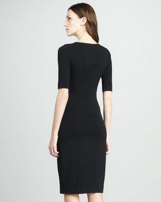 Diane von Furstenberg Messon Half-Sleeve Dress