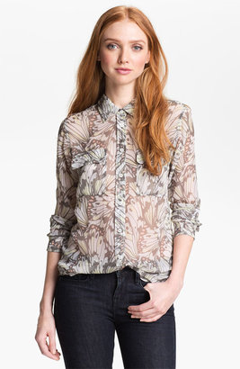 Equipment 'Signature' Silk Shirt Bright White X-Small