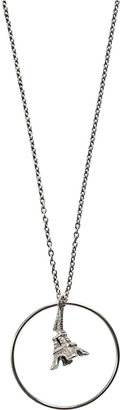 Chic Sick Chic Silver Eiffel Tower Necklace