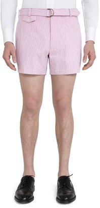 Brooks Brothers Belted Shorts